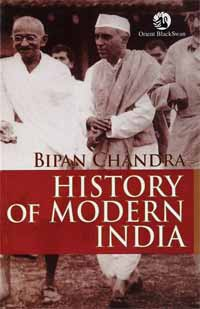 History of Modern India Bipin Chandra