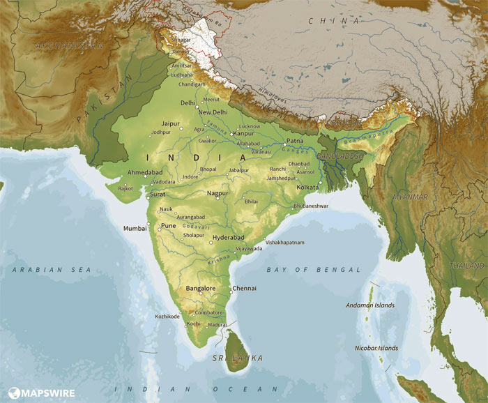 How to study Indian Geography Atlas / Maps